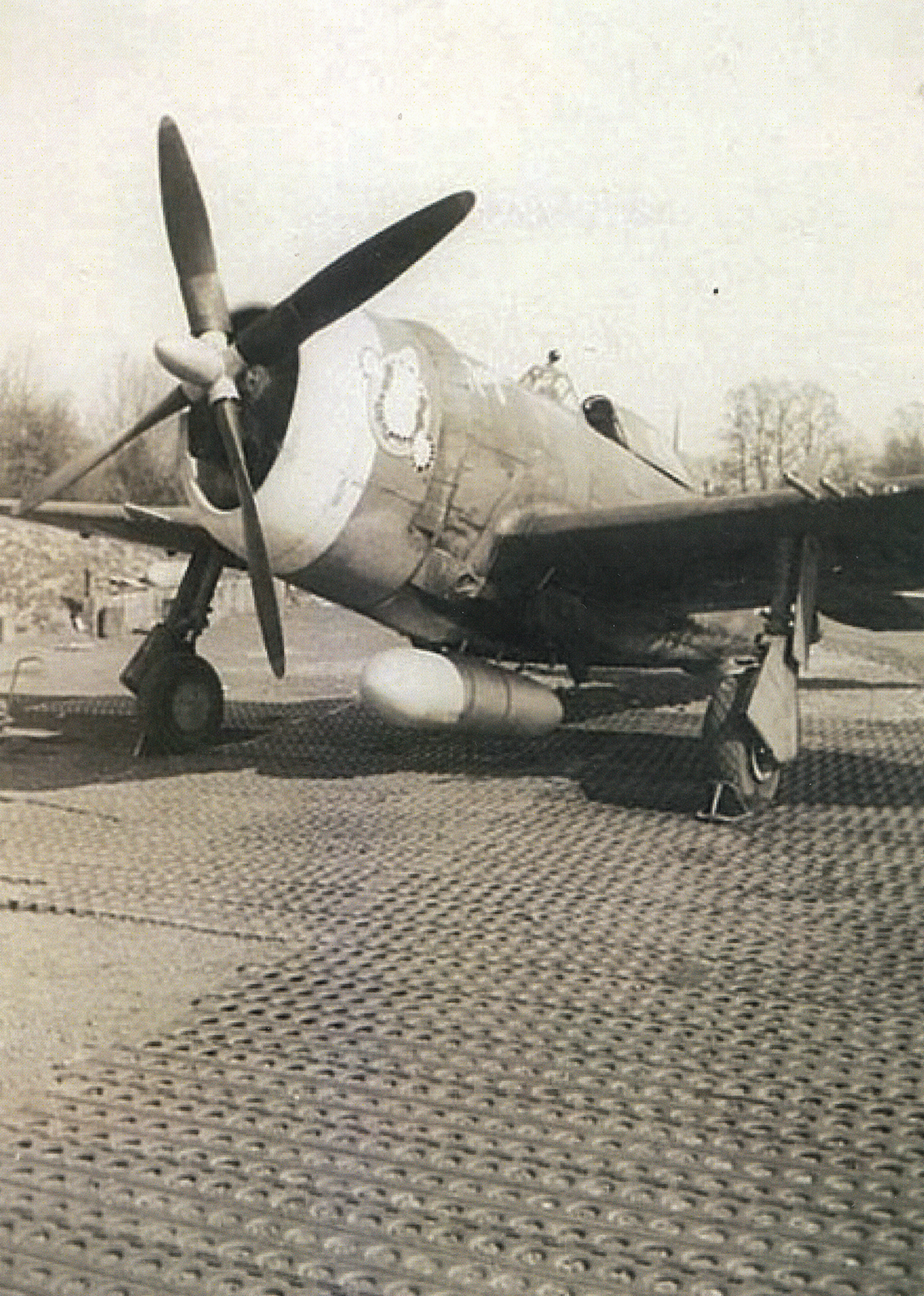 P-47 Thunderbolt fighter © AAM – UPL 18680