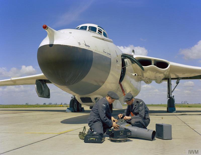 Wyton - Vickers Valiant © IWM RAF T 972
