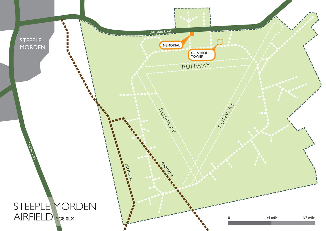 Steeple Morden Site Map