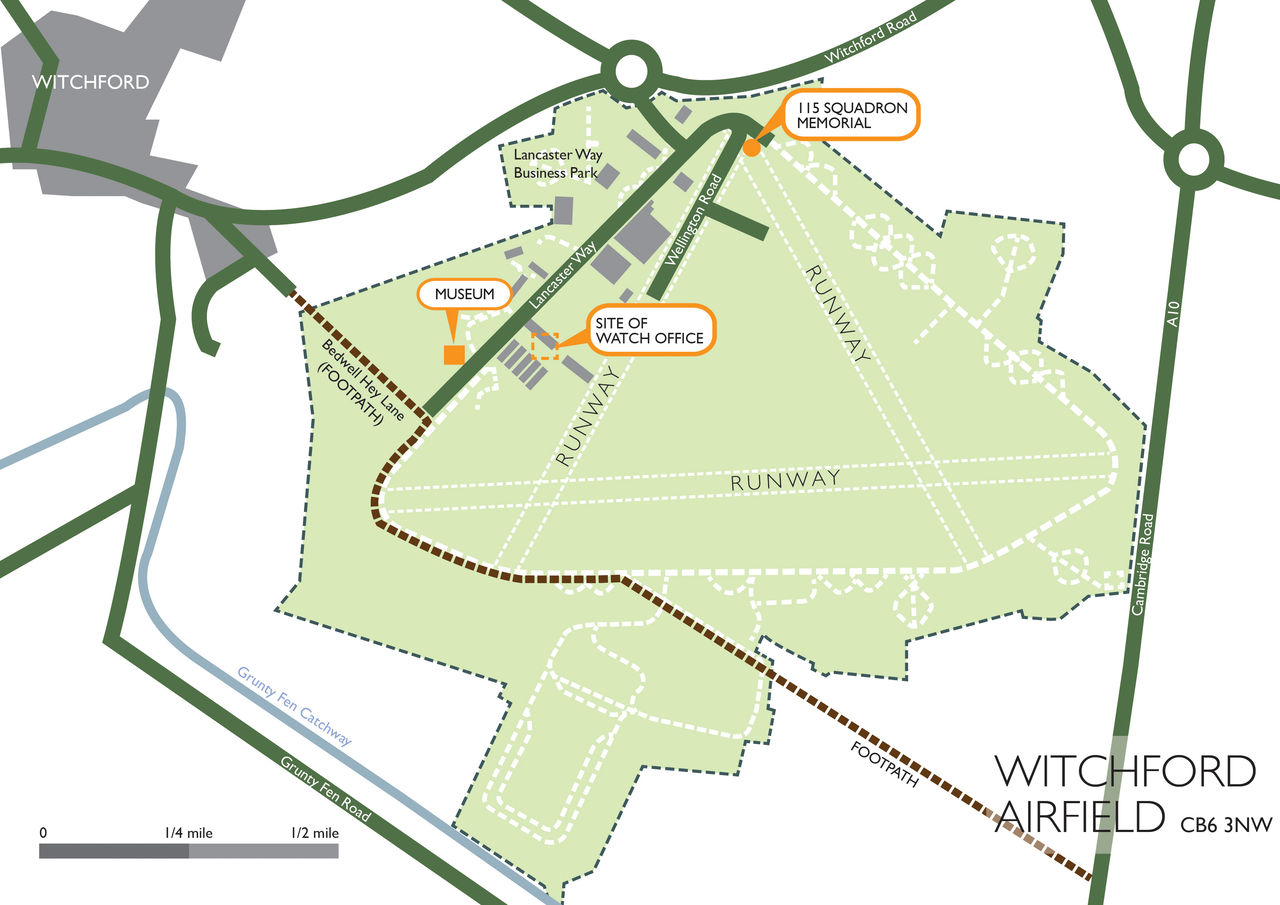 Witchford Site Map