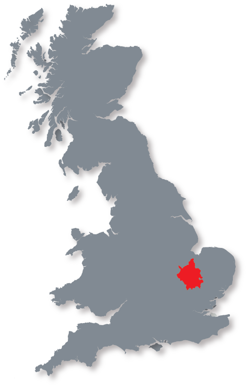 The UK and Cambridgeshire
