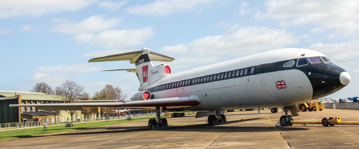 Hawker Siddeley Trident 2E © DAS