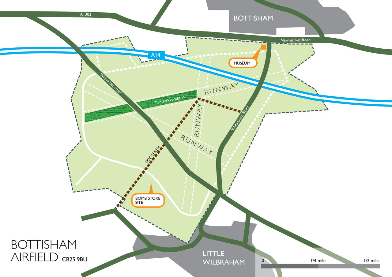 Bottisham Site Map
