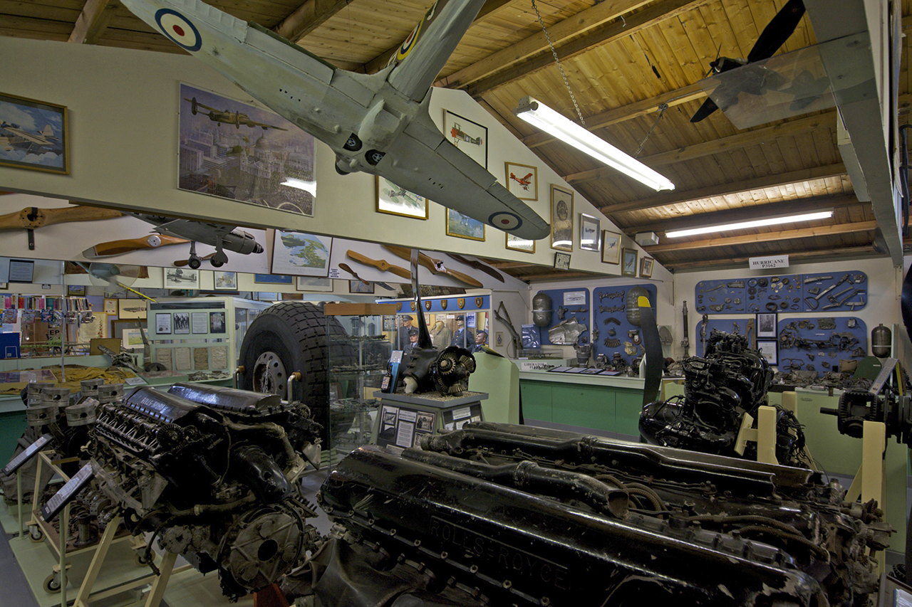 Interior view of the museum © C Jones