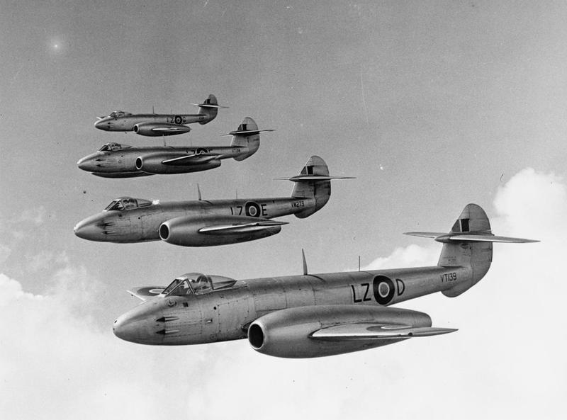 Post-war jet age © IWM MH28313